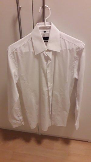 Klassisches Hemd Boyfriend-Bluse