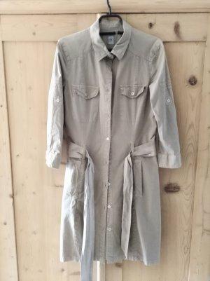 Mason's Robe chemise chameau coton
