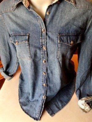 Klassisches Jeanshemd H&M