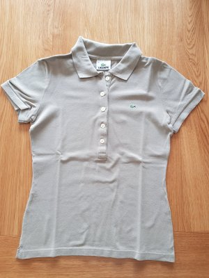 Lacoste Polo Shirt beige cotton