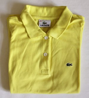 Klassisches Lacoste-Polo-Shirt (kurzarm) in gelb