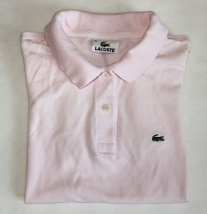 Klassisches Lacoste-Polo-Shirt (kurzarm) in rosa