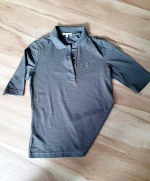 Klassisches Lacoste Poloshirt in oliv mit Halbarm Gr. 38