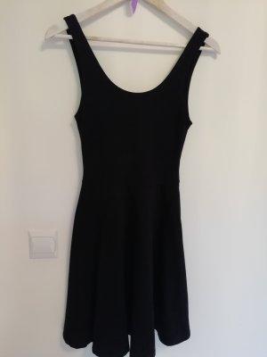 klassisches schwarzes kleid für den sommer 36 S