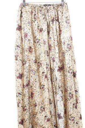 klaudyna cerklewicz Maxirock florales Muster Gypsy-Look