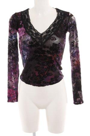 Klaus Dilkrath V-hals shirt kleurverloop romantische stijl