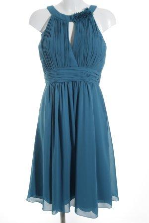 Kleemeier Hof Chiffonkleid kornblumenblau Elegant