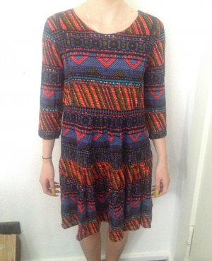 Desigual Midi Dress multicolored polyester