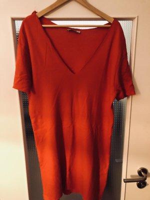 Zara Robe t-shirt rouge