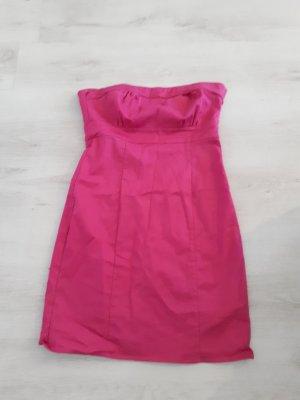 H&M Off the shoulder jurk roze