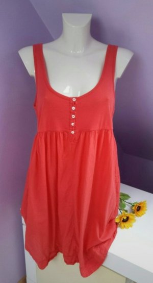 Armani Beach Dress bright red