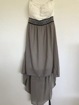 Beach Dress white-light grey