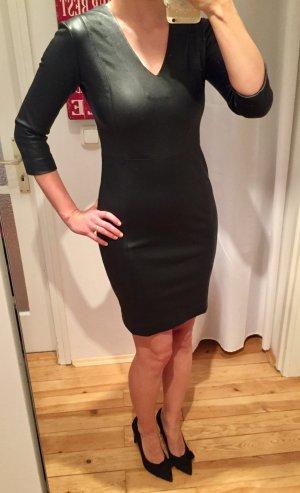 Kleid 100% Lammleder schwarz 36 BALATT