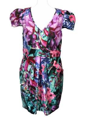 Kleid 100% Seide von Warehouse