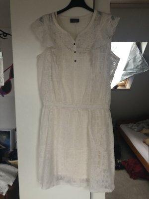 C&A Vestido estilo camisa blanco-crema