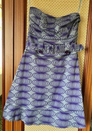Dept Vestido bandeau lila-púrpura