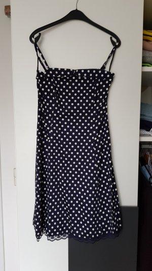 Vero Moda Petticoat Dress white-dark blue