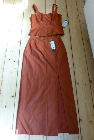 Kleid 2-teilig von Vera Mont rostfarben, ungetragen