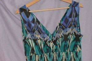 Yessica Abito hippie multicolore Tessuto misto