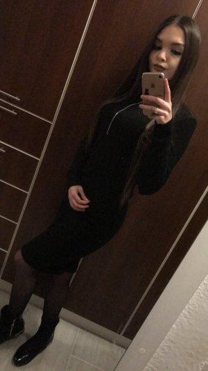 Bik Bok Midi-jurk zwart