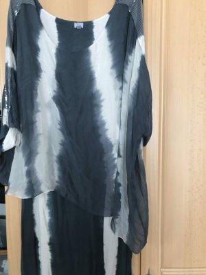 Alba Moda Blouse Dress multicolored silk