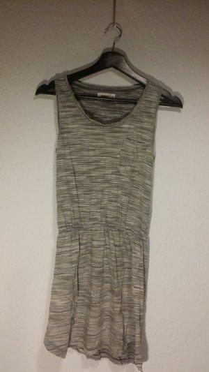 Wemoto Vestido de tela de sudadera blanco-gris claro