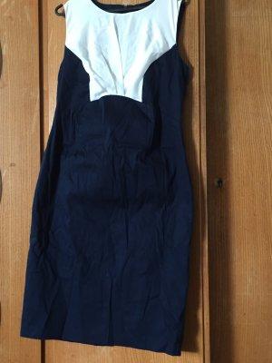 Orsay Midi Dress dark blue-white