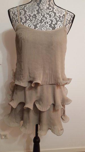 HM Babydoll-jurk lichtgrijs