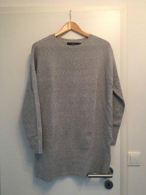 Vero Moda Vestido de lana gris claro