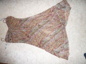 C&A Robe Hippie marron clair polyester