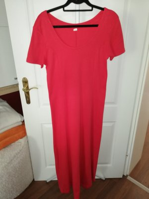 Sweat Dress red