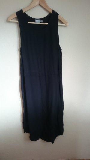 Asos Midi-jurk zwart Viscose