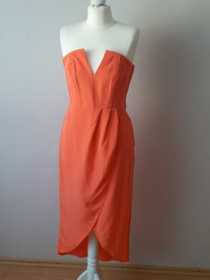 H&M Abito da ballo arancione