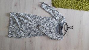 Amisu Sweater Dress white-light grey