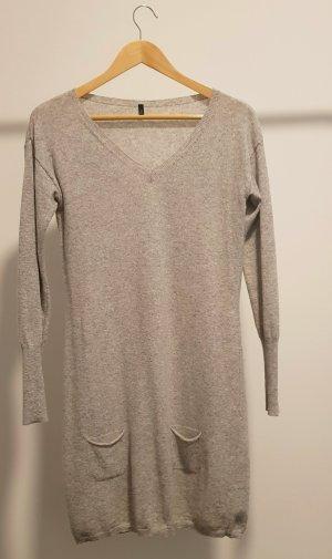 United Colors of Benetton Vestido de lana gris claro