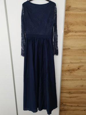 Lace Dress dark blue