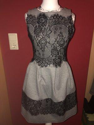 Colloseum Vestido de baile gris-negro
