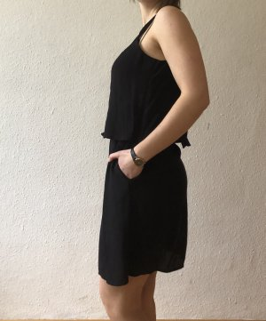 MNG Collection Robe chiffon noir