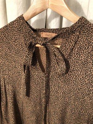 nana belle Abito blusa camicia marrone-marrone chiaro