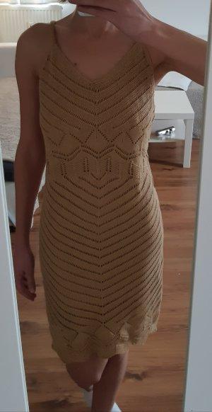 Tally Weijl Gebreide jurk beige