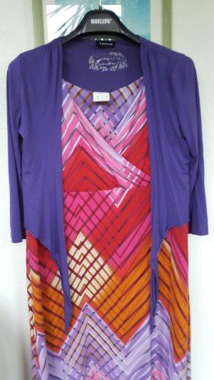 Maxi abito multicolore Tessuto misto