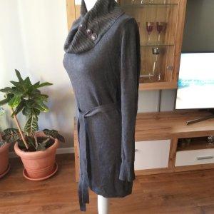 Gebreide jurk antraciet