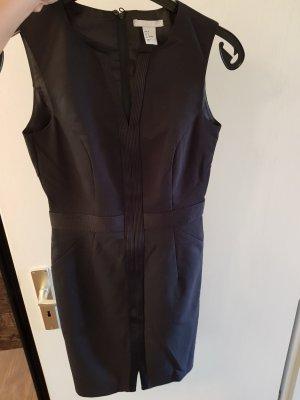 H&M Falda estilo lápiz negro