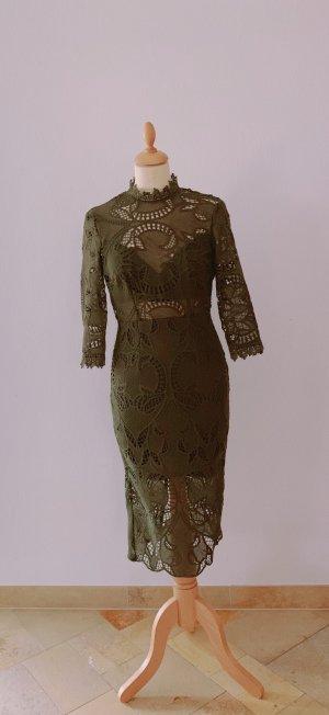 Lace Dress khaki