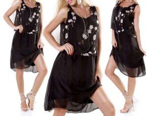 0039 Italy Midi-jurk zwart