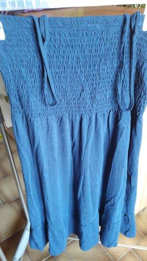 Vestido playero azul oscuro