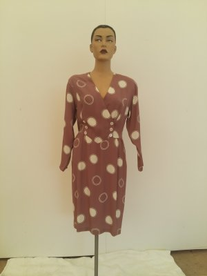 Burberrys of London Midi Dress grey lilac silk