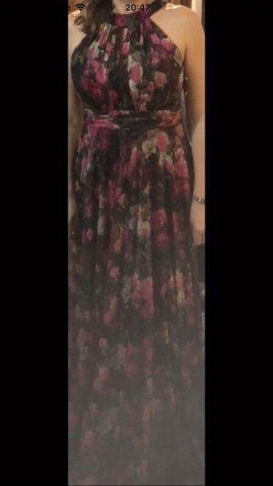 Maxi Dress dark red