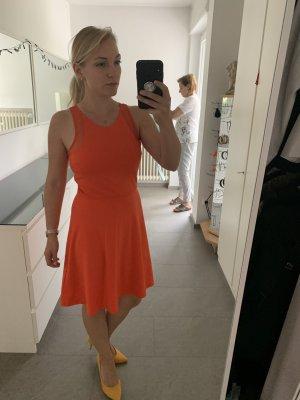 H&M Peplum Dress orange