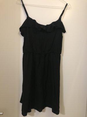 H&M Vestido playero negro